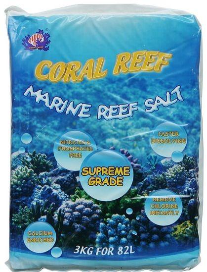 수족관에서 쓰는 해수염 CORAL REEF  땡처리합니다.