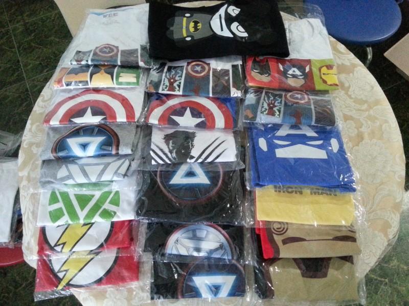 마블 DC 히어로즈 반팔티셔츠!!