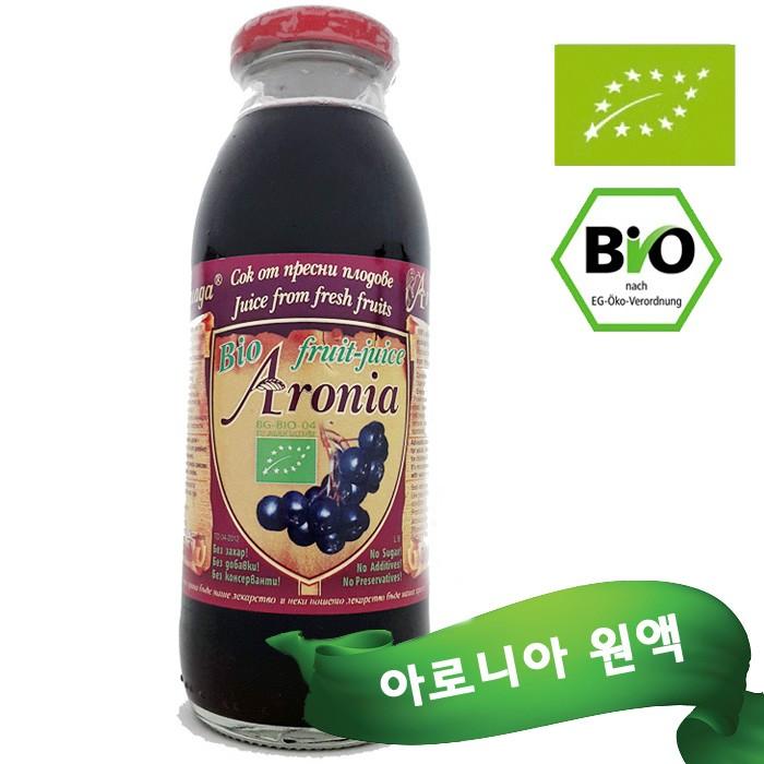 불가리아산 유기농 아로니아 원액