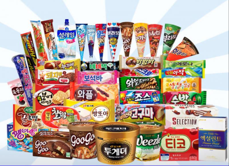 롯데 아이스크림  전 품목 판매