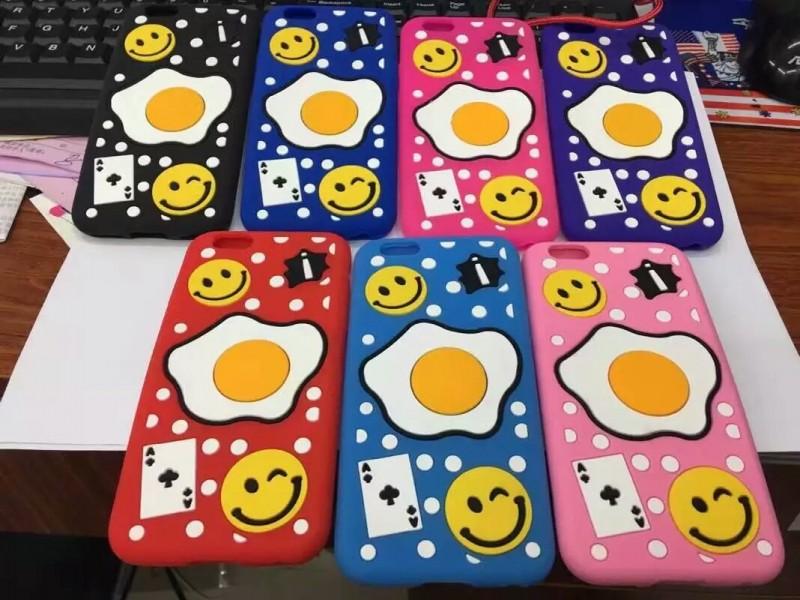 스마일 달걀 휴대폰케이스입니다