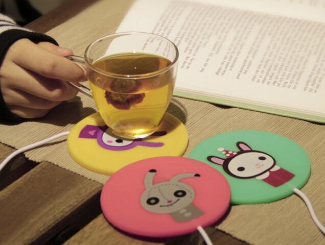 USB 실리콘 컵 보온 Silicone Cup Warmer