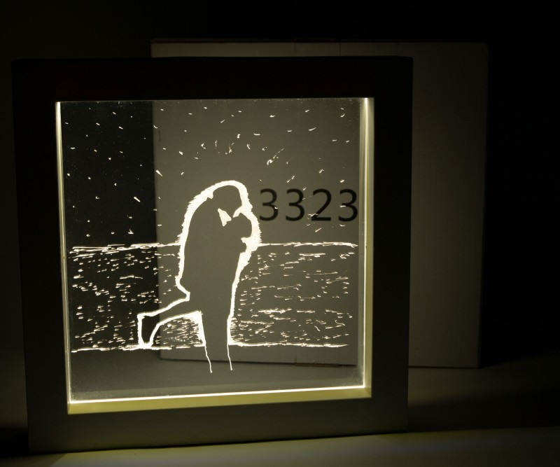 DIY 셀프무드등_빛나는 액자