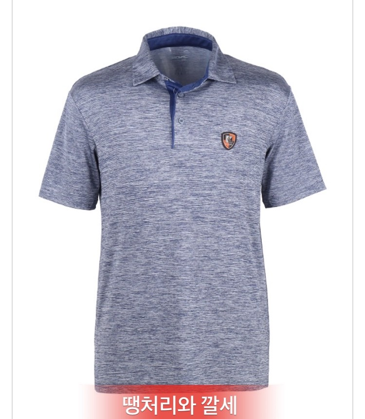 냉감 카치온 골프 남성 카라 티셔츠