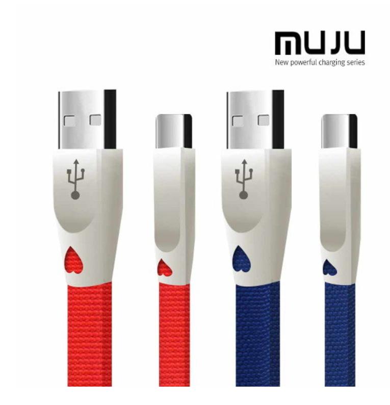MUJU MJ-62 3A 고속충전 C타입 USB케이블