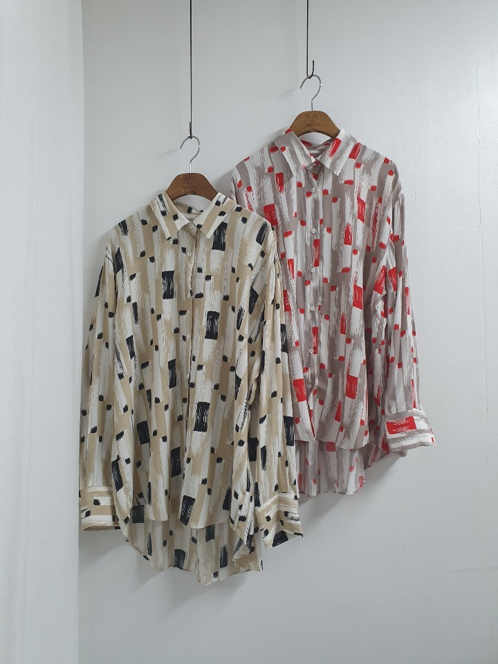 [완사입/파샬] 여름 패턴 셔츠 (2컬러) - 11장 3500원