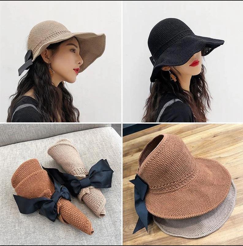 코나유통-여름 리본 모자 ※