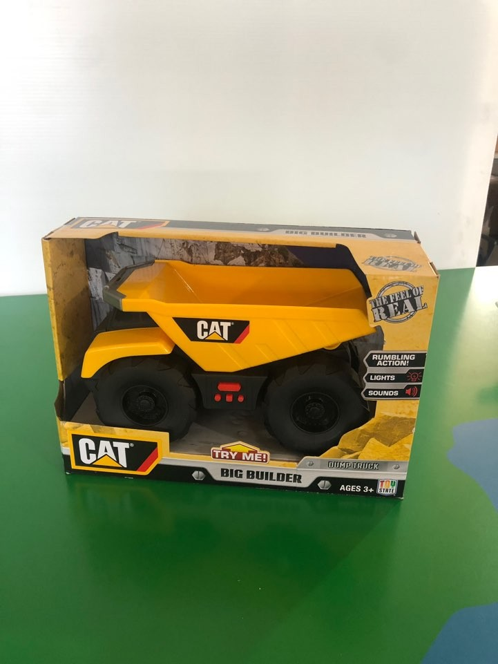 CAT 모래놀이세트 (덤프트럭)/ 중장비장난감