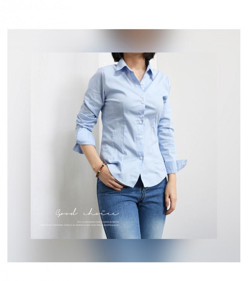 [완사입/파샬] 긴팔 베이직 면 셔츠-60장 2,000원