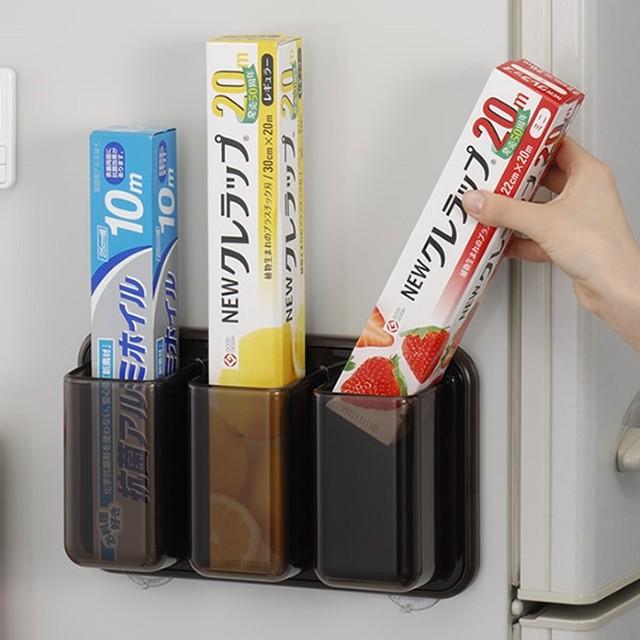 냉장고 부착 랩 호일 보관 꽂이