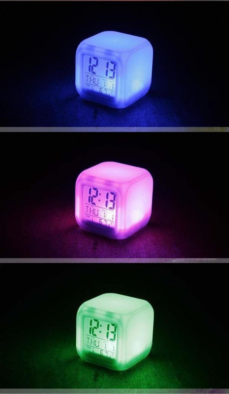 정가 8천원 / LED 무드등 디지털시계 [LED무드등/알람/다양한부가기능/판촉/선물용/정품고품질]