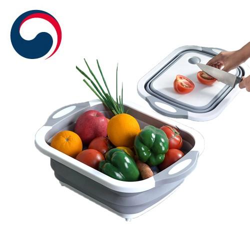 접이식 도마/대야/과일 야채 세척/캠핑용 도마