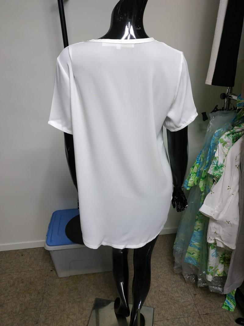 여자 심플 티셔츠