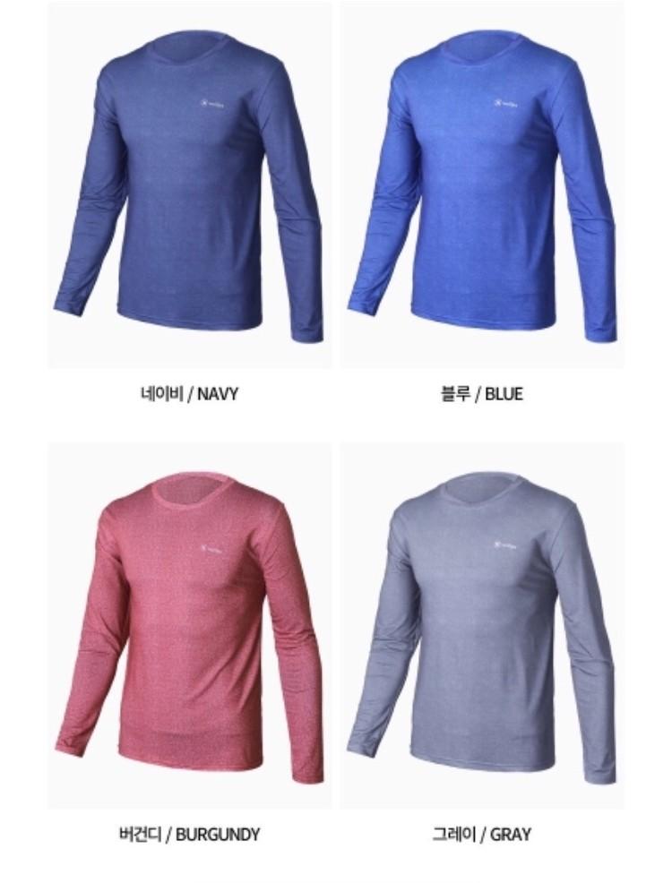 남성 라운드넥 티셔츠