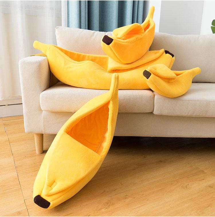 고양이 바나나 숨숨집