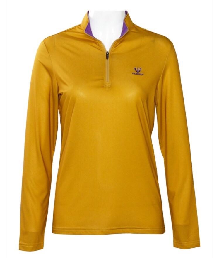 훼르자 짚업 긴팔 티셔츠 (여성용)