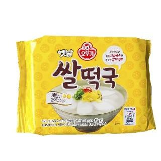 오뚜기 떡국 일괄 1.350원