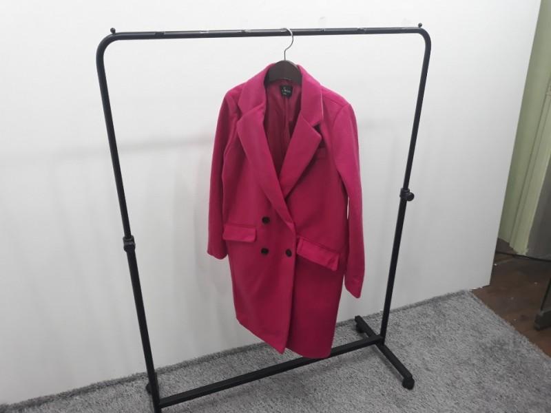 [재고맨] - 완사입/파샬(여성) - 핑크 모직 코트 / 총 3장 / 완사단가 6000원