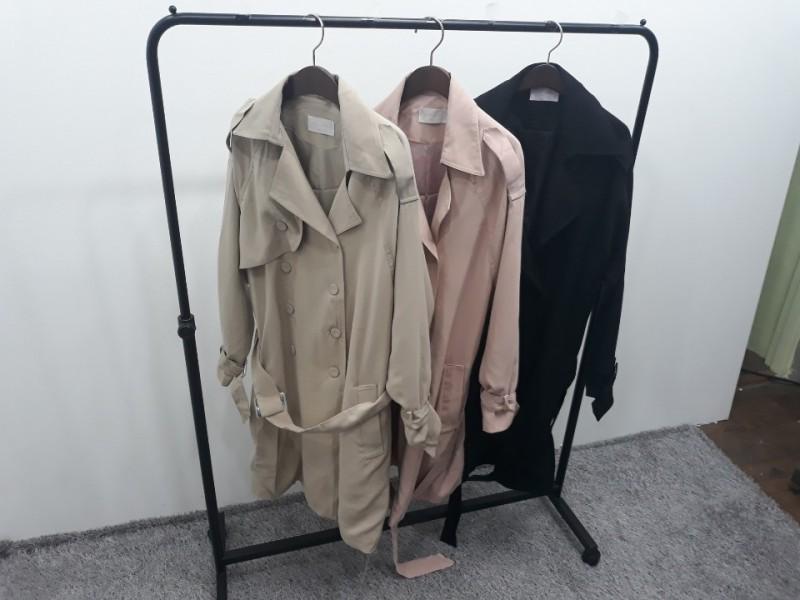 [재고맨] - 완사입/파샬(여성) - 트렌치 코트 / 총 24장 / 완사단가 7000원
