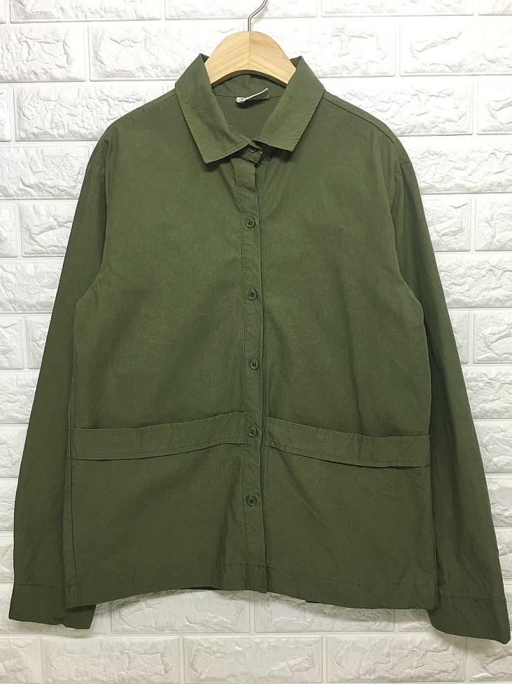 a1562 양포켓 셔츠