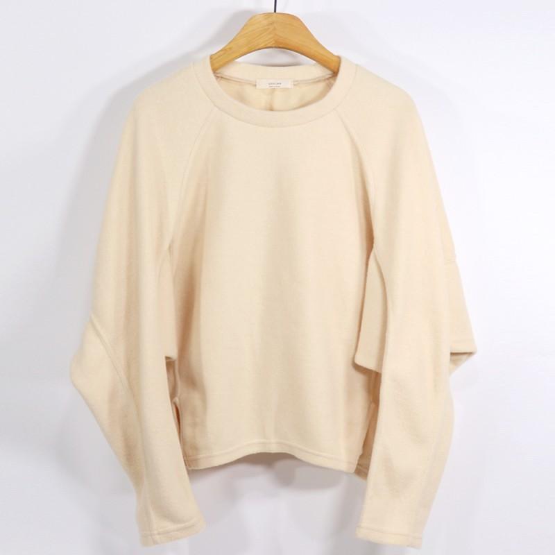 (도매야)가오리 입체 겉기모 맨투맨 티셔츠
