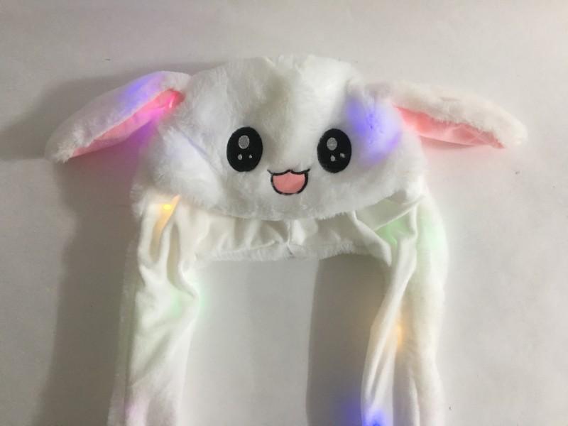 LED불빛토끼모자 3000원