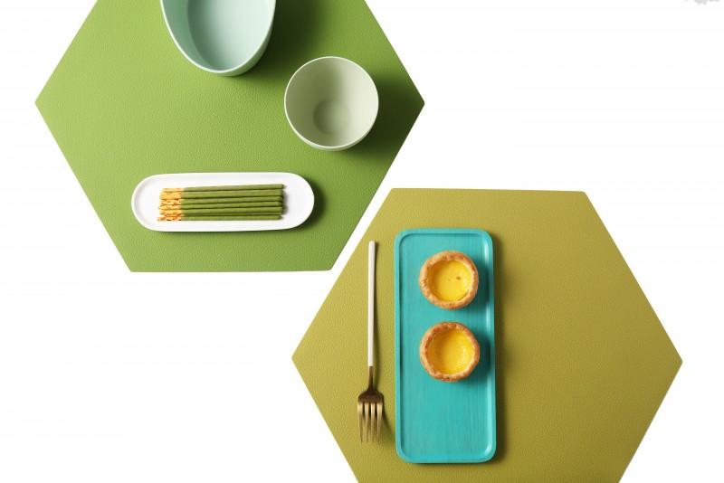 케라미카 실리콘 식탁매트 육각형