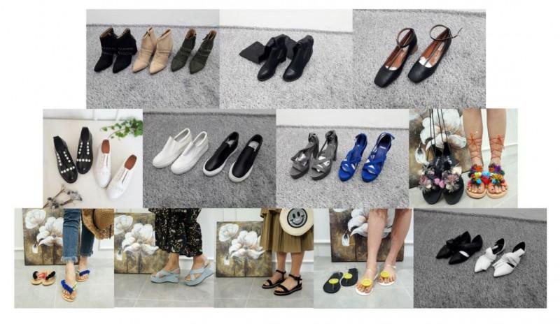 [재고맨] - 완사입(여성) - 신발정리 / 총 152족 / 완사 20만원