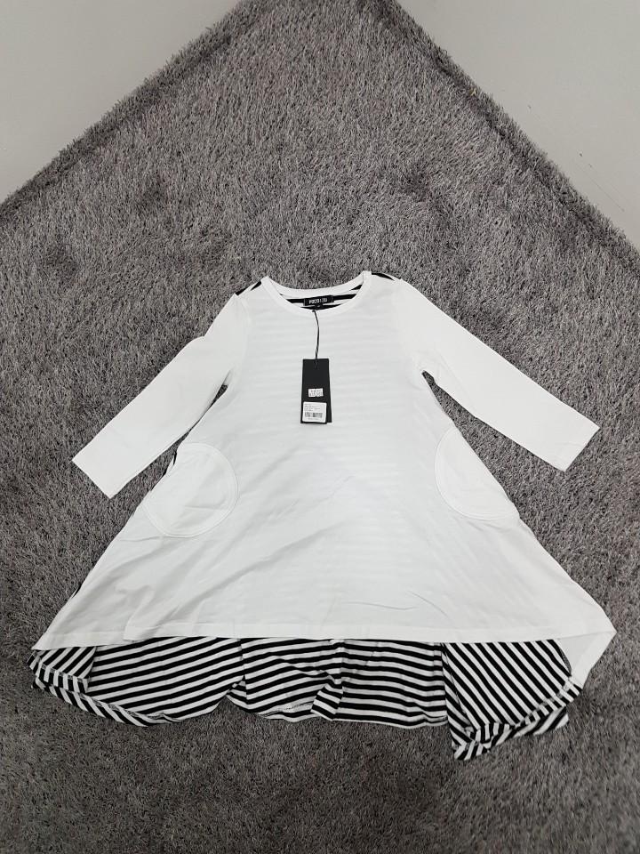 [재고맨] - 완사입/파샬(아동) - 스트라이프 드레스 / 총 43장 / 완사단가 3000원