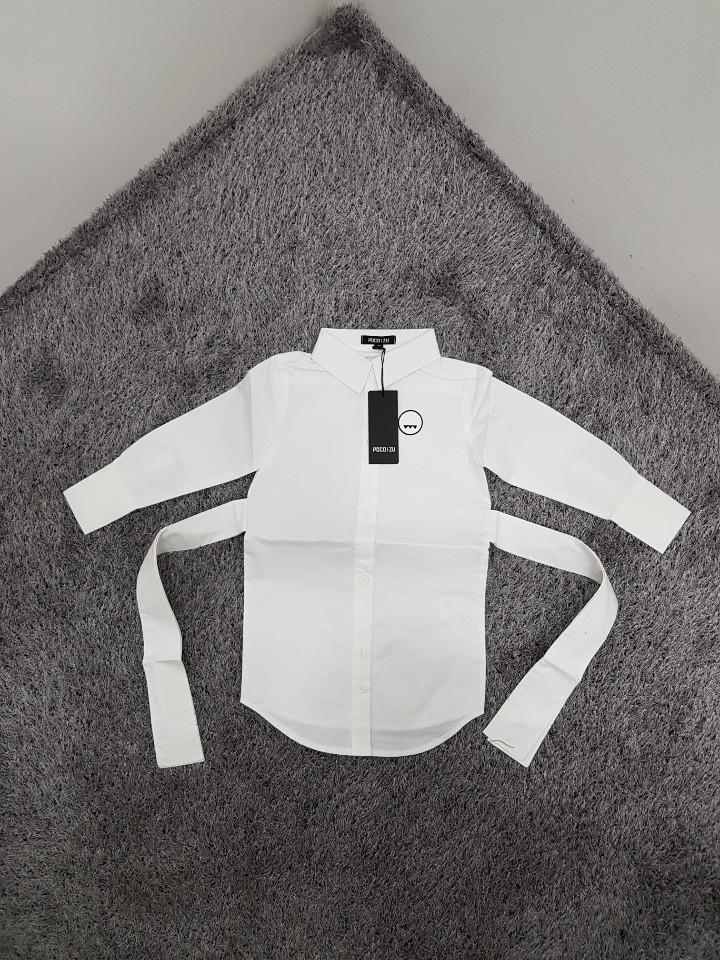 [재고맨] - 완사입/파샬(아동) - 리본 화이트셔츠 / 총 20장 / 완사단가 3000원