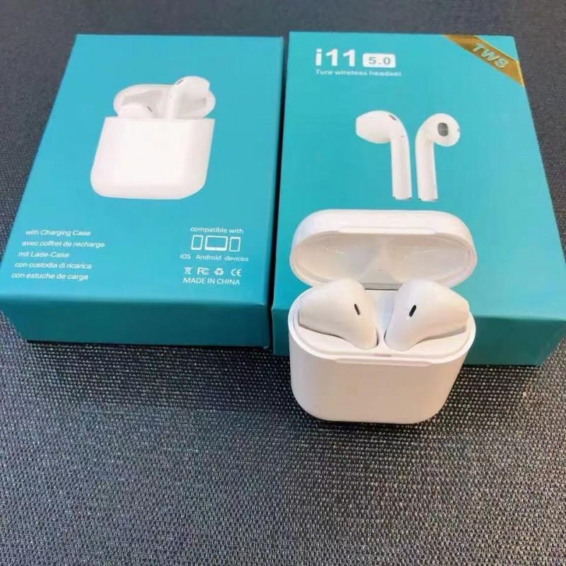 (국내보유재고처분)차이팟 i11 TWS 블루투스 5.0 원터치