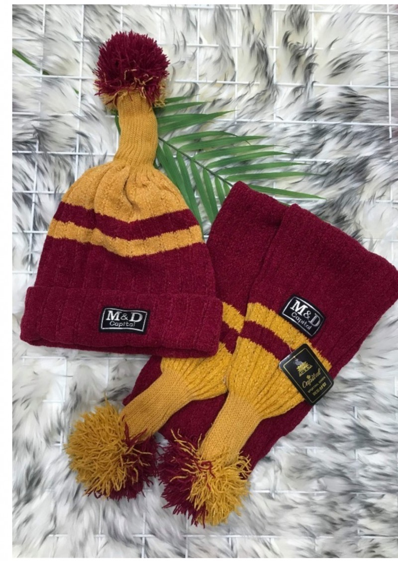 브랜드 모자와목도리