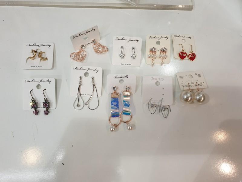 귀걸이 500원 판매
