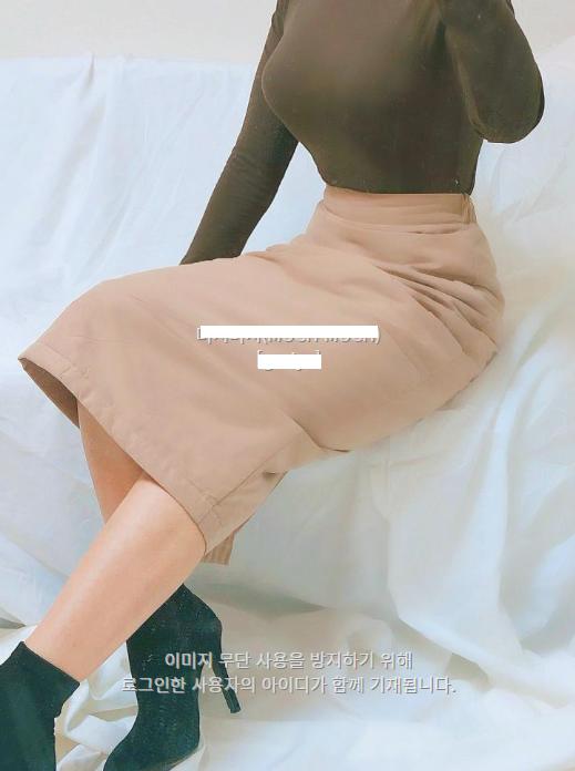 [완사입/파샬] 패딩 미디 sk 3컬러 - 12장 3000원