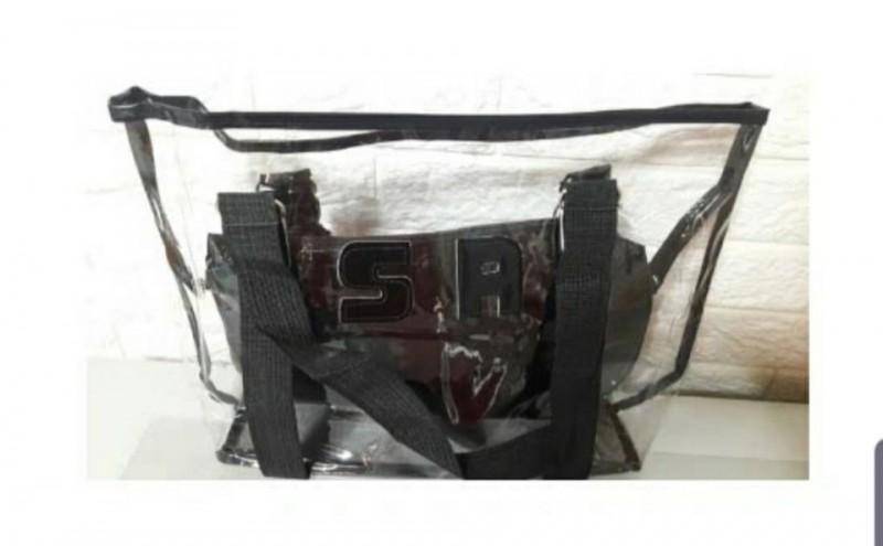 투명 비치 가방