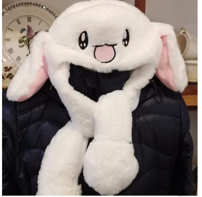 토끼모자 800원 ( 귀 움직입니다 )