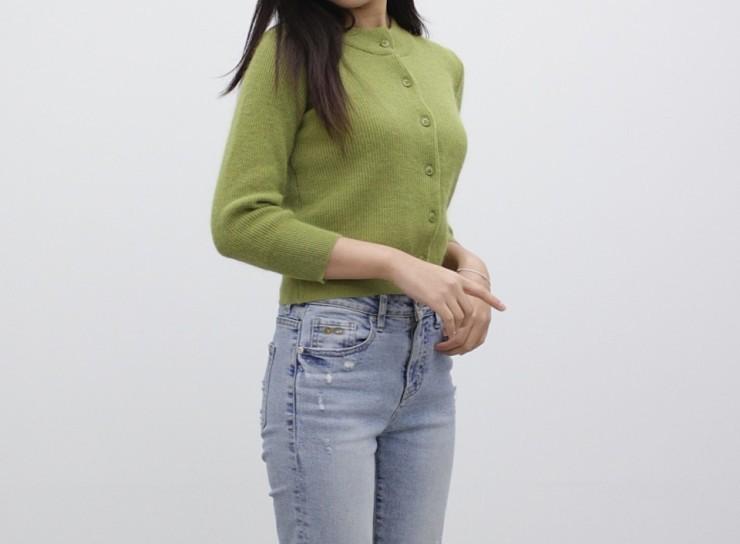 (완사입/파샬) 힐트 앙고라 가디건 / 15장 2500원