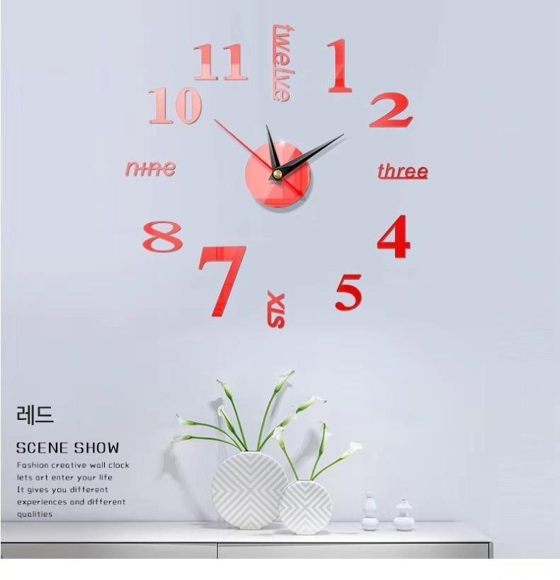 붙이는벽시계