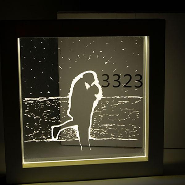 [DIY]LED 셀프 취침 무드등 액자 아이디어 상품 선물 판매
