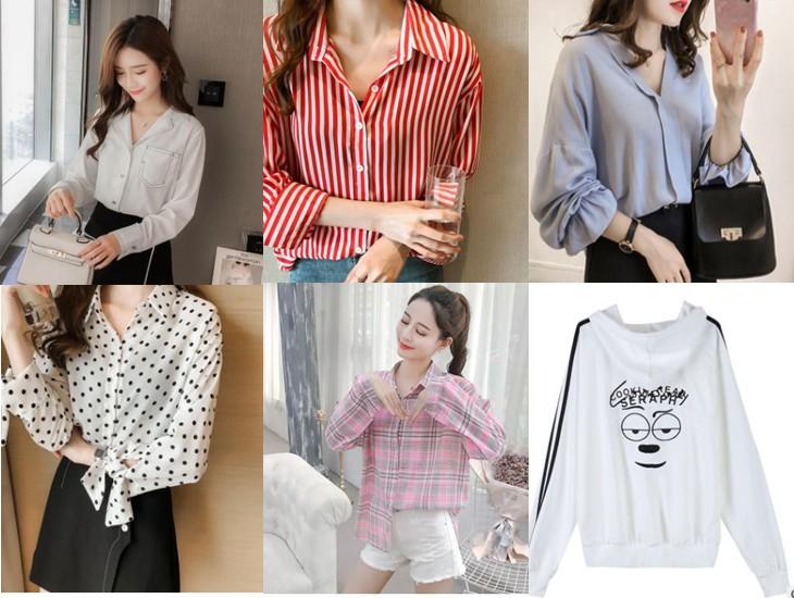 여성 셔츠와 후드 개당 1500원 일괄판매합니다.