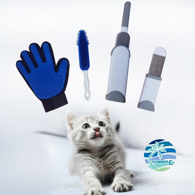 고양이 강아지 털제거 3종세트