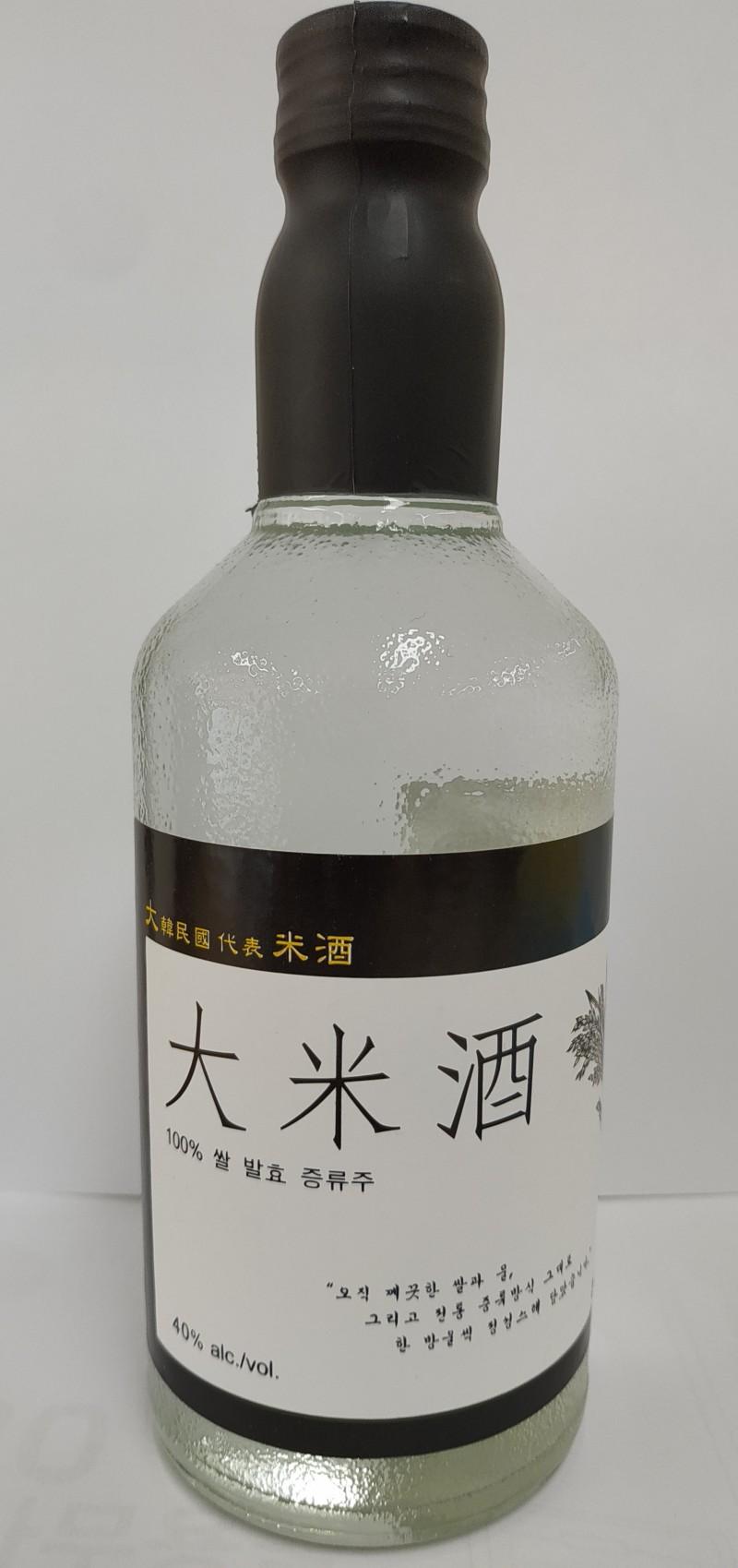 대미주(쌀발효증류주) 40도 일반증류주