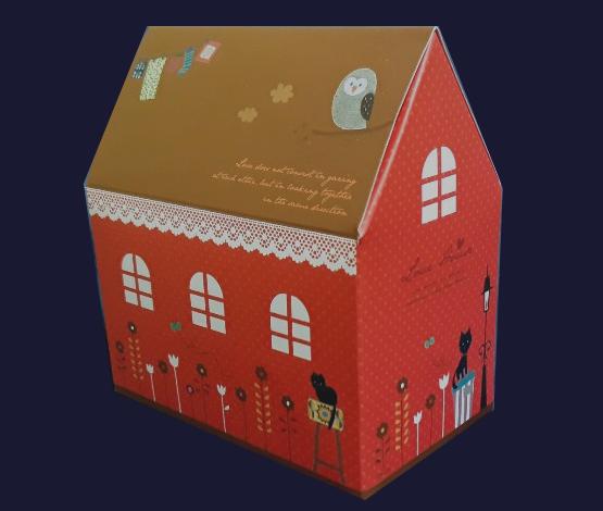 미니러브하우스 - 간단히접는 종이상자