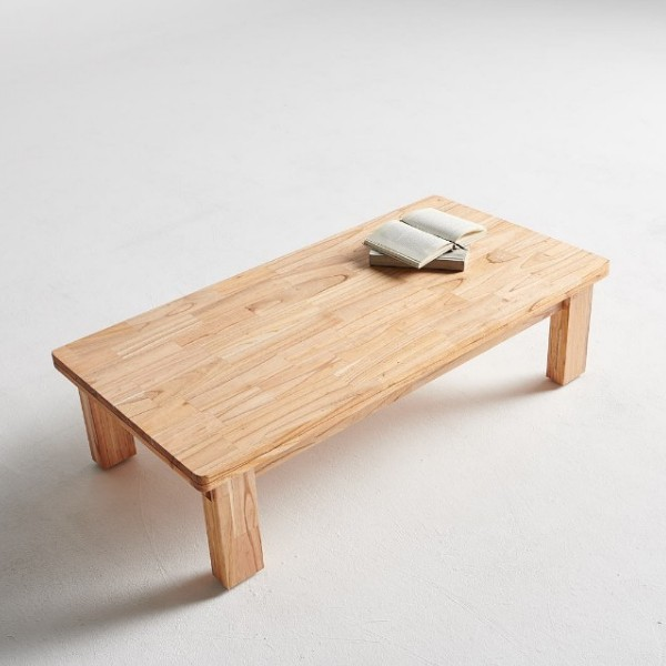 원목 거실테이블(고무나무,참죽나무)