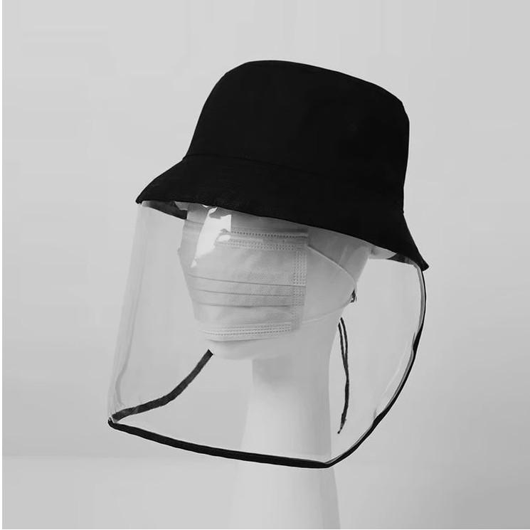 코로나 바이러스 방역 일체형 모자