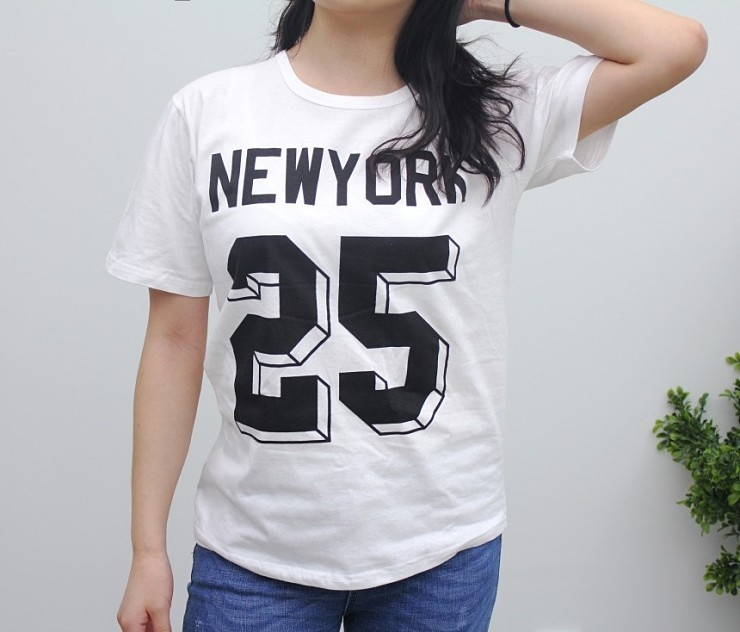 (완사입/파샬) NEW YORK 반팔 티셔츠 / 400장 / 1500원