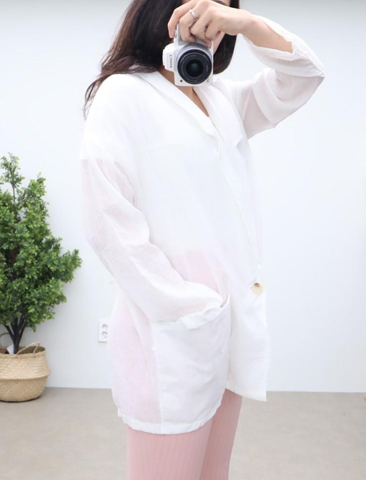 (완사입/파샬) 린넨 카라 셔츠자켓 3색상/ 67장/ 3000원
