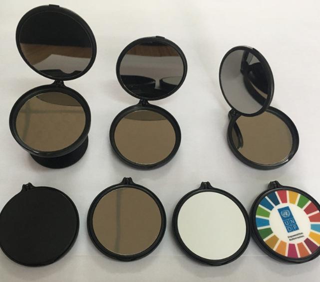 공장직배송 360도회전 거울그립톡 핸드폰거치대   제품91300