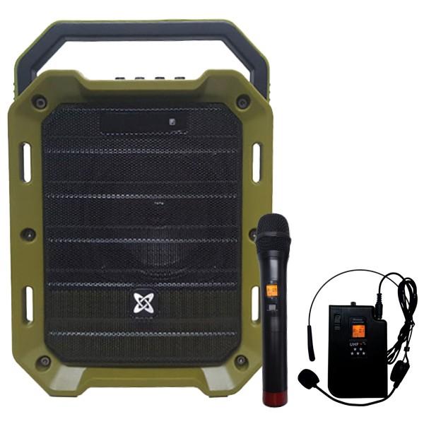 세텍코리아 정품 2채널 무선마이크 150W 앰프스피커 EV-8900