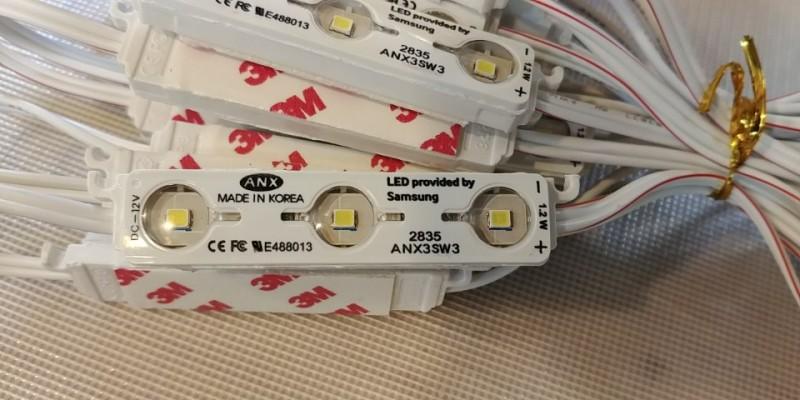 LED 3구 모듈 (삼성LED)